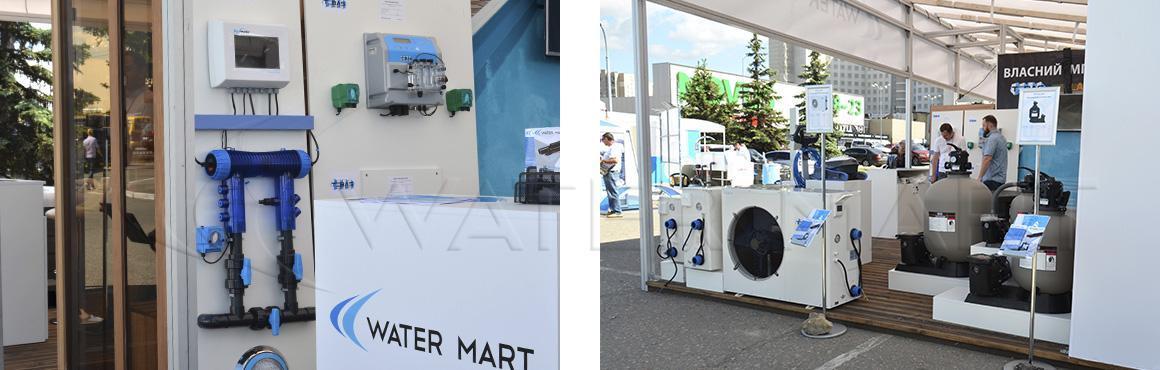 Стенд оборудования для бассейнов Water Mart