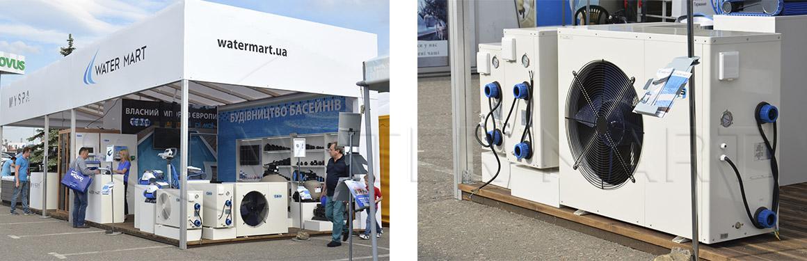 Тепловые насосы Tebas на выставке Аква-Терм